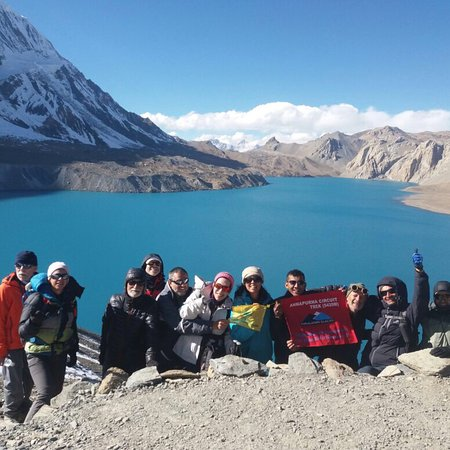 Manang, Nepal: It's a amazing trekking with my friends. I did my amazing trekking.