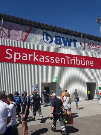 Sandhausen, Germany: Hardtwaldstadion