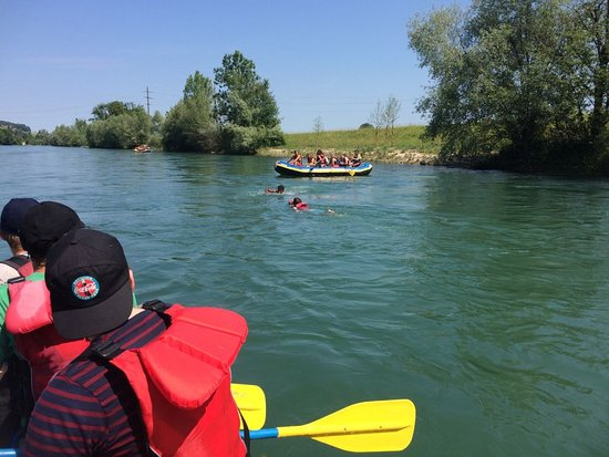 Ilanz, Suíça: Gemütliche Flusstouren auf Reuss und Rhein - mit viel Zeit zum Treiben lassen!