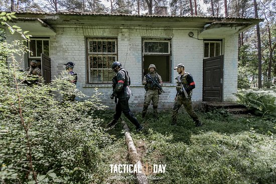 Tactical Day - Airsoft play field