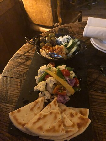Owl Bar: Hummus Crudite