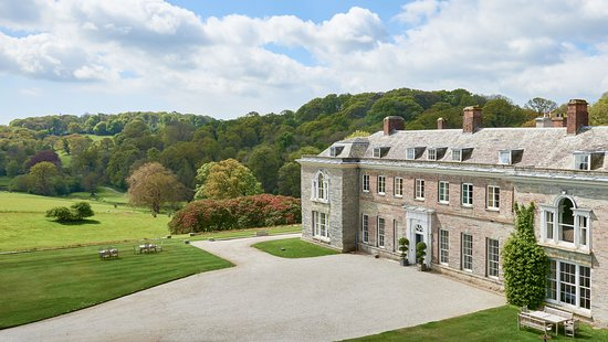 Lostwithiel, UK: Boconnoc House.