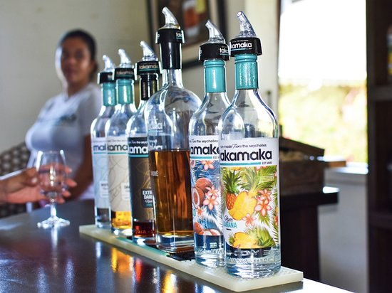 Cocotier Tours: Our local rum.....