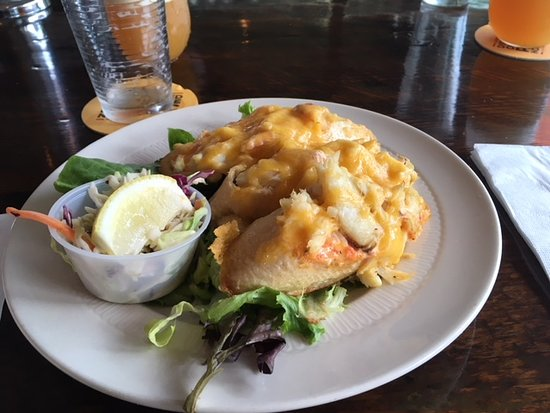 OleBob's Seafood Market and Galley Restaurant: Crab melt