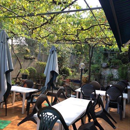 Agullana, España: Morue au four gratiné aïoli avec pois chiches excellent! Très bon rapport qualité prix tout est