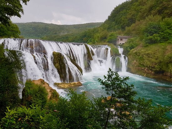 The premier natural attraction in Una National Park is Štrbački Buk, a collection of spectacular waterfalls and cascades in the Una River. This fantastic series of waterfalls and rapids is arguably also the most photogenic spot in the entire park—a major highlight that should by no means be missed.