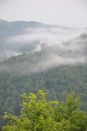 Breaks, VA: Fog almost every morning