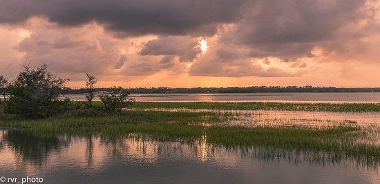 Costa de Carolina del Sur, Carolina del Sur: Lagunas y marismas que rodean la isla