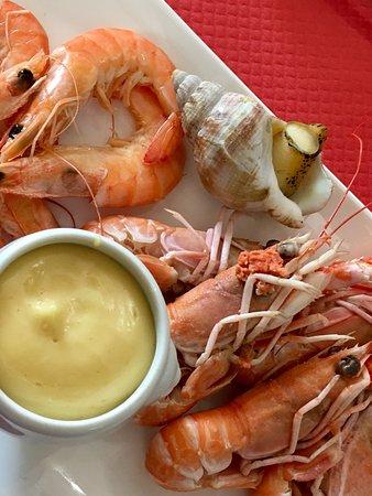 Pouance, França: Seafood...
