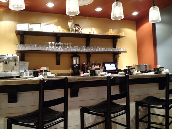 Small bar area - Picture of Famous Toastery, Greenville - TripAdvisor