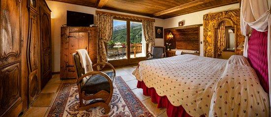 Bellevue Hotel & Spa: Camera deluxe / Suite con jacuzzi e caminetto (ad acqua)