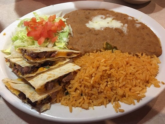 Henderson, TX: Lunch Quesadillas