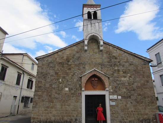 Koper, Slovenia: Chiesa di San Giacomo