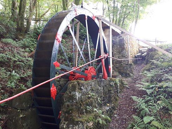 Сент-Остелл, UK: Water wheel
