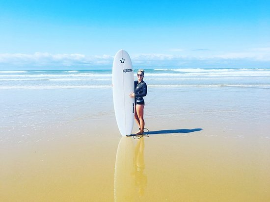 Morgan's Bay, South Africa: If the ocean will allow it, a surf or two will do