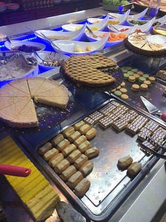 Thoiry, فرنسا: Les desserts