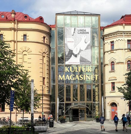 Sundsvall Museum Library Picture Of Kulturmagasinet