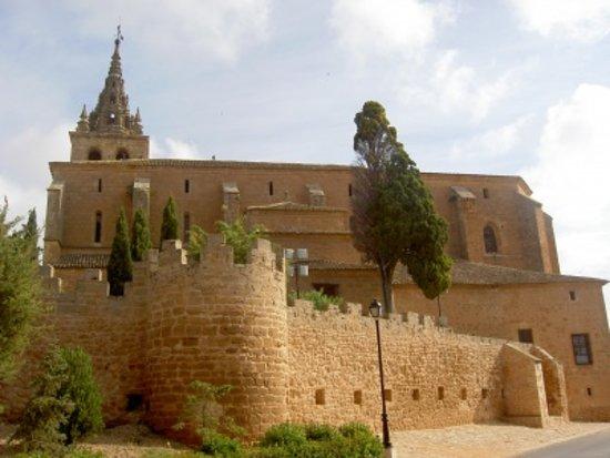 Villanueva de la Jara, Espanha: la parte trasera