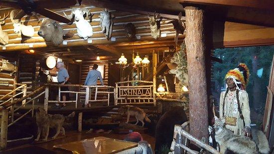 Lake Delton, Висконсин: Fun cabin decor