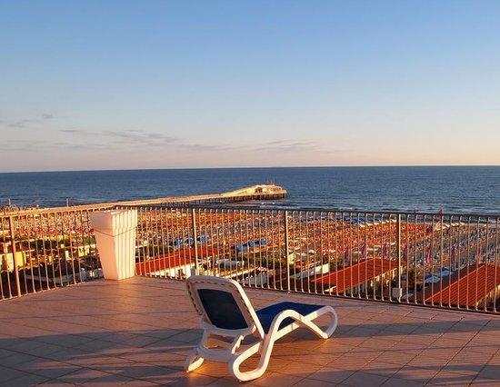 Hotel Sole e Mare: Terrazza solarium