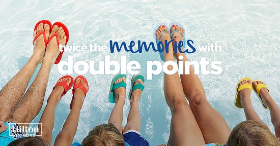 Hampton Inn and Suites Tulsa Hills: double points
