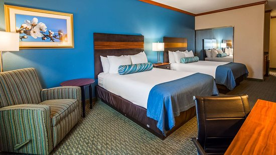 Woodway, TX: Two Queen Room