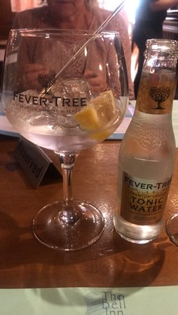 Welford on Avon, UK: Stratford Gin and Tonic