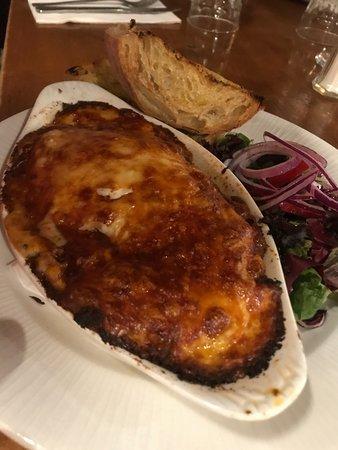 Welford on Avon, UK: Lasagne
