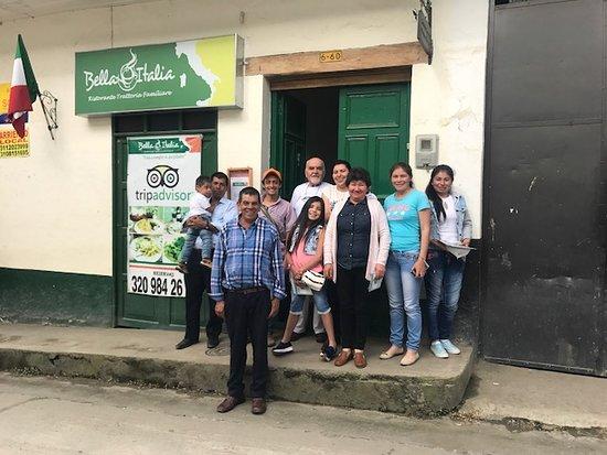 Fomeque, Colombia: Grupo familiar de Fómeque