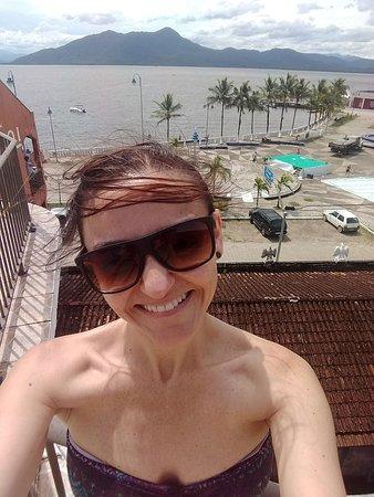 Guaraquecaba, PR: Vista Hotel Guaraqueçaba!!!