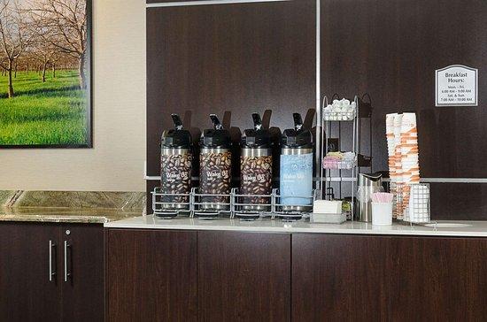Turlock, Kalifornien: Breakfast area