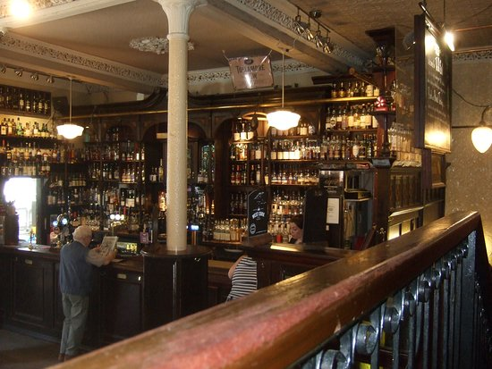 The Pot Still: Just a small selection of whiskey