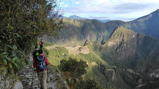 Inca Trail - Day 4, Machu Picchu is over there!
