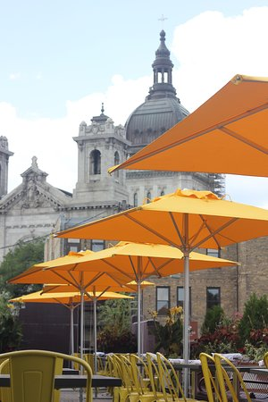 4 Bells: Rooftop Patio with Views of the Basilica