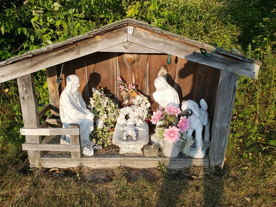 Our Lady Of Marmora - Greensides Farm - Shrine