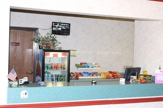 Barnesville, GA: Front Desk