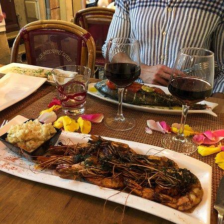 Le Chaperon Rouge: Wonderful food!