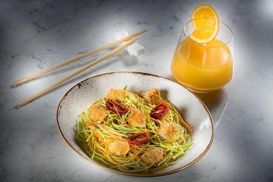 Fairmont Quasar Istanbul: Ukiyo Lounge&Bar Zucchini Noodles