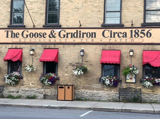 The Goose & Gridiron: August Dinner at The Goose and Gridiron