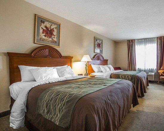 Comfort Inn: Spacious guest room