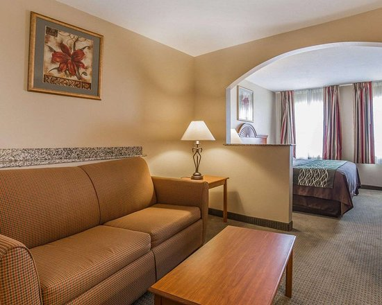 Comfort Inn: King suite with sofa sleeper