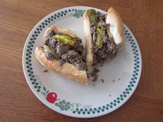 Murray, Юта: Fat Boy Phillies - Cheesesteak Sandwich