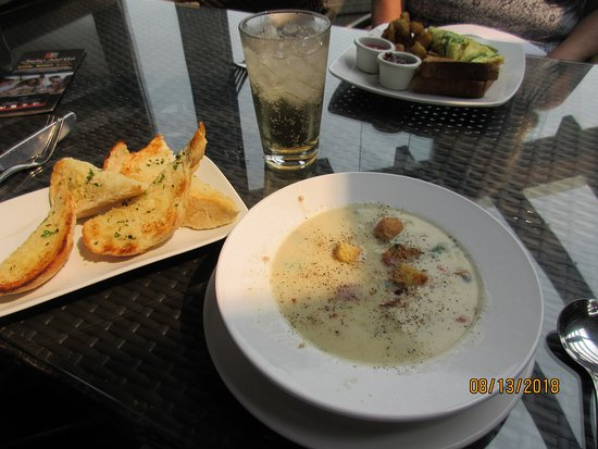 The Boathouse Restaurant: Seafood Chowder