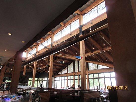 The Boathouse Restaurant: Decor (Canoe)