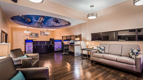 Gila Bend, Аризона: Lobby view