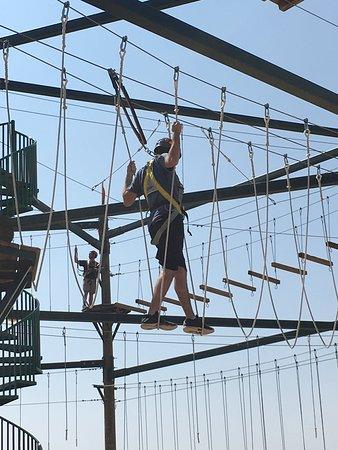 Winter Park Adventure Quest: Ropes course
