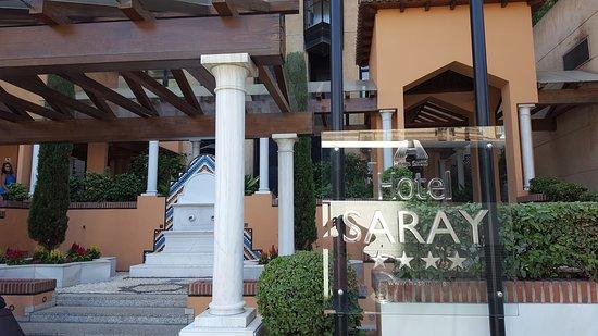 Saray Hotel: vista frontal