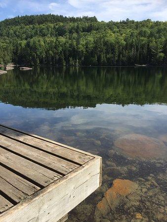 Grandes-Piles, Canada: Le lac clair