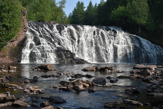 Hurley, Ουισκόνσιν: Lower Potato River Falls