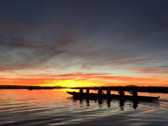 Lago Titicaca: Hermoso!